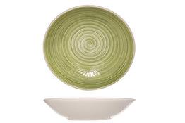 Bord Calotte groen 21 cm Turbolino