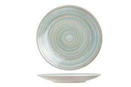 Dessertbord blauw 22 cm Turbolino