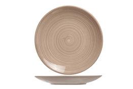 Dessertbord bruin 22 cm Turbolino