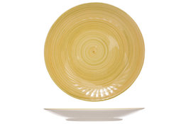 Bord plat geel 27 cm Turbolino