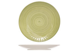 Bord plat groen 27 cm Turbolino