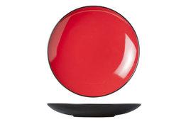Dessertbord 21,5cm rood Finesse