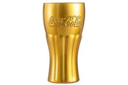 Coca Cola glas 37cl goud