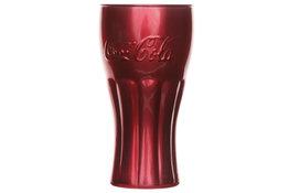 Coca Cola glas 37cl rood