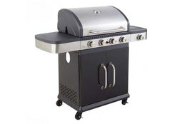 Americain Gasbarbecue 4 BR Side Cook'in Garden