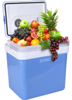 Elektrische koelbox 25 liter blauw