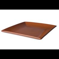 Bord vierkant Tapas Classico 25 cm bruin
