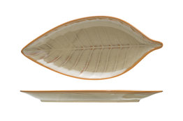 Apero- bord bladvorm 23.5cm x 10,8cm Limerick