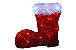 Kerstlaars rood LED