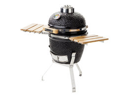 Yakiniku Kamado BBQ Grill 11 inch met zijbordjes en onderstel