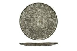 Plat bord grijs-groen 26,5cm Istra