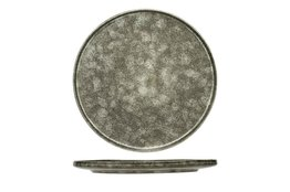 Plat bord grijs-groen 30cm Istra