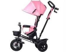 Kinderwagen driewieler 3-in-1 roze Kinderline