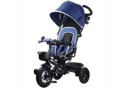Kinderwagen driewieler 3-in-1 blauw Kinderline