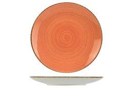 Dessertbord 22cm Granite Terracotta