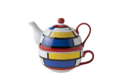 Tea for One theeset Mondriaan