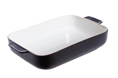 Ovenschaal 34,5 x 22 cm zwart Odessa