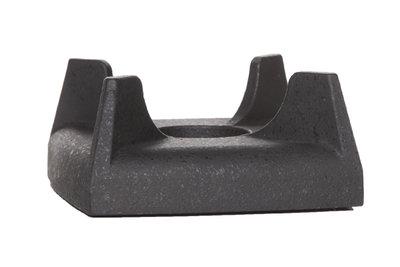 Rechaud zwart gietijzer onderzetter 11cm