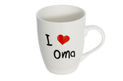 Beker 36 cl I Love Oma