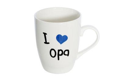 Beker 36 cl I Love Opa