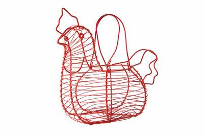 Eiermand kip rood Wire