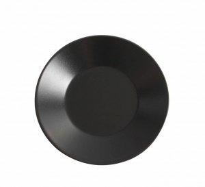 Asia Black plat bord mat zwart 27,5 cm