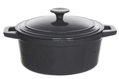 braadpan bergerac cosy trendy grijs 24 cm