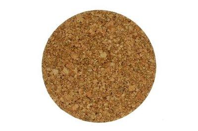 onderzetters kurk pannen 9,5 cm