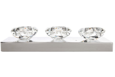 Theelicht houder diamantharten