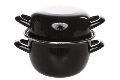 Mosselpan zwart 1 kg