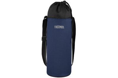 Flessenkoeler blauw 3 liter Thermos