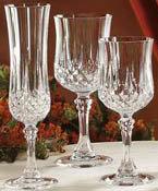 Set glazen Longchamp Cristal d'Arques
