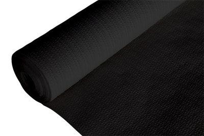 Tafelkleed papier zwart op rol Cosy&Trendy.