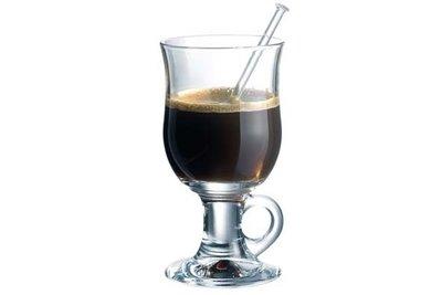 Irish coffee glazen set Durobor.
