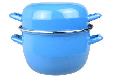 Mosselpan blauw 1,2 kg