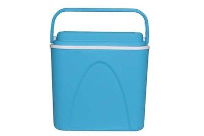 Koelbox blauw 24 liter.