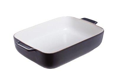 Ovenschaal 24 x 15,5 cm zwart Odessa