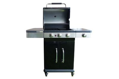 Americain Gasbarbecue 3BR Side