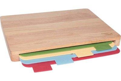 Snijplanken set Bamboe met 4 planken Cosy&Trendy