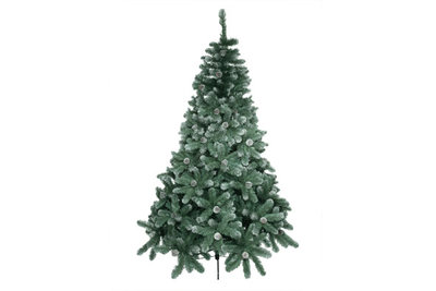 Kunst kerstboom Smokey Cone 210 cm