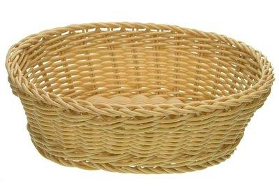 Brood mandje naturel ovaal 25cm