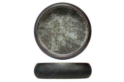 Schaaltje grijs-groen 17cm Istra