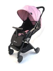 Kinderwagen buggy in de kleur roze. Gemakkelijk opvouwbaar. Van het merk Kinderline.