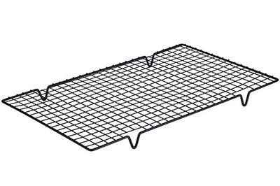 Afkoelrek zwart metaal 40 x 25 cm