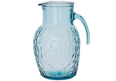 Karaf 1 liter Oriente aqua blauw