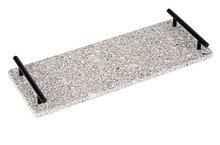 Medical Stone tray met metalen greep 40 x 15 cm