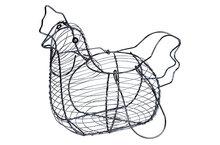 Eiermand kip zwart