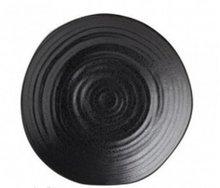 Bord 21 cm zwart Tribeca
