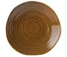 Plat bord bruin 21 cm Tribeca