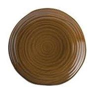 Plat bord bruin 28 cm Tribeca